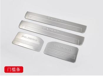 Добро пожаловать педаль подходит для Mitsubishi Pajero арматура, Специальная отделка из нержавеющей стали для Pajero V73 V93 V97