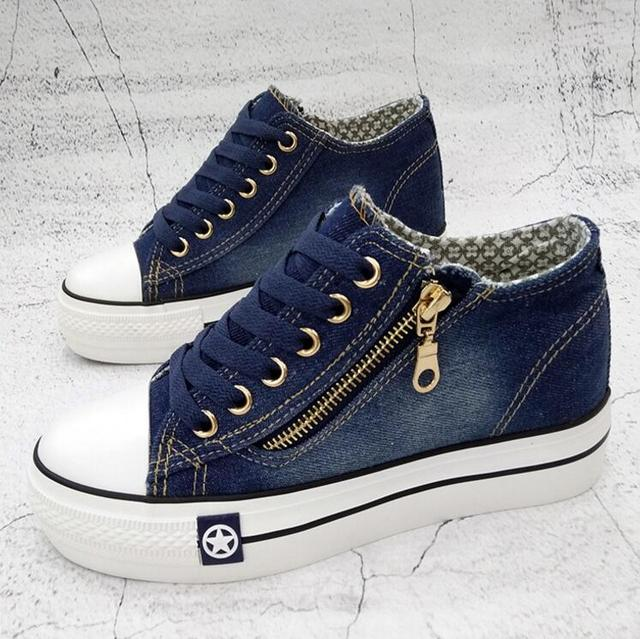 Denim Casual Shoes  Women's 1