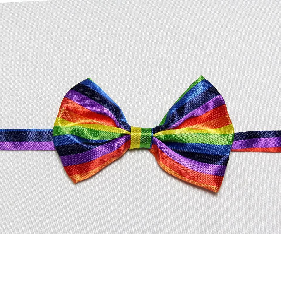 HOOYI Rainbow Boys' Bow Tie Print Kids Butterfly Baby Necktie Chldren Bowties Gravata