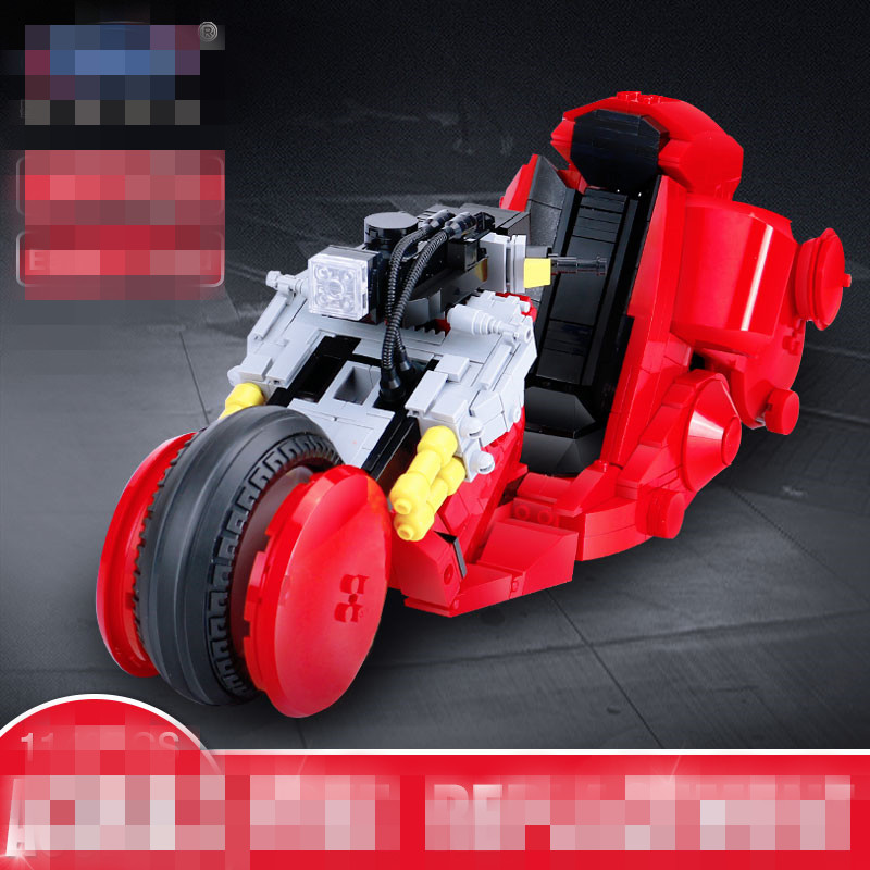 IN STOCK XB 03001 1143Pcs Creative MOC City Series The Citizen Akira Moto Set Building Blocks Bricks Boy Toys Model