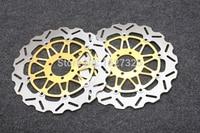Motorcycle Front Brake Disc Rotors For APRILIA RSV 1000/ Tuono 1000 /MX 125 /Tuono 125 Correspondence year universal