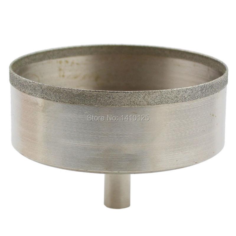 79mm Lapidary Super-thin Diamond Coated Core Drill Bit Hole Saw Masonry Drilling 0.7mm Rim Save Materials for Jasper Gems Agate