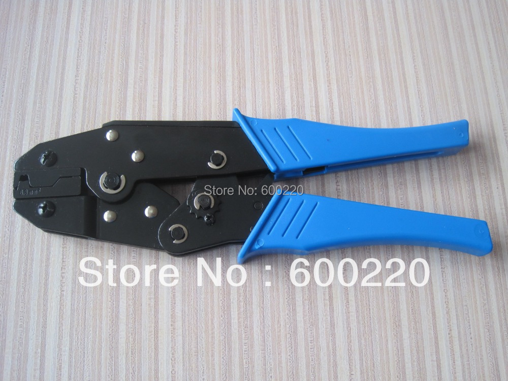 ratchet style crimping tool for for flag terminals ls 06fl us457. Black Bedroom Furniture Sets. Home Design Ideas