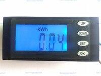Digital Power meter tester verificador do monitor Atual Tensão KWh Tempo Watt Medidor de Energia Voltímetro Amperímetro AC80 260V 50/60 hz 20A|energy meter|power meter|kwh watt -
