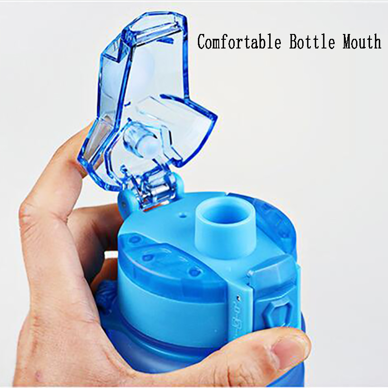 Tritan Water Bottle High Quality Plastic Outdoor Sport Drink Bottle Easy Carry Fashion Colorful Drinking Kettle in Water Bottles from Home Garden