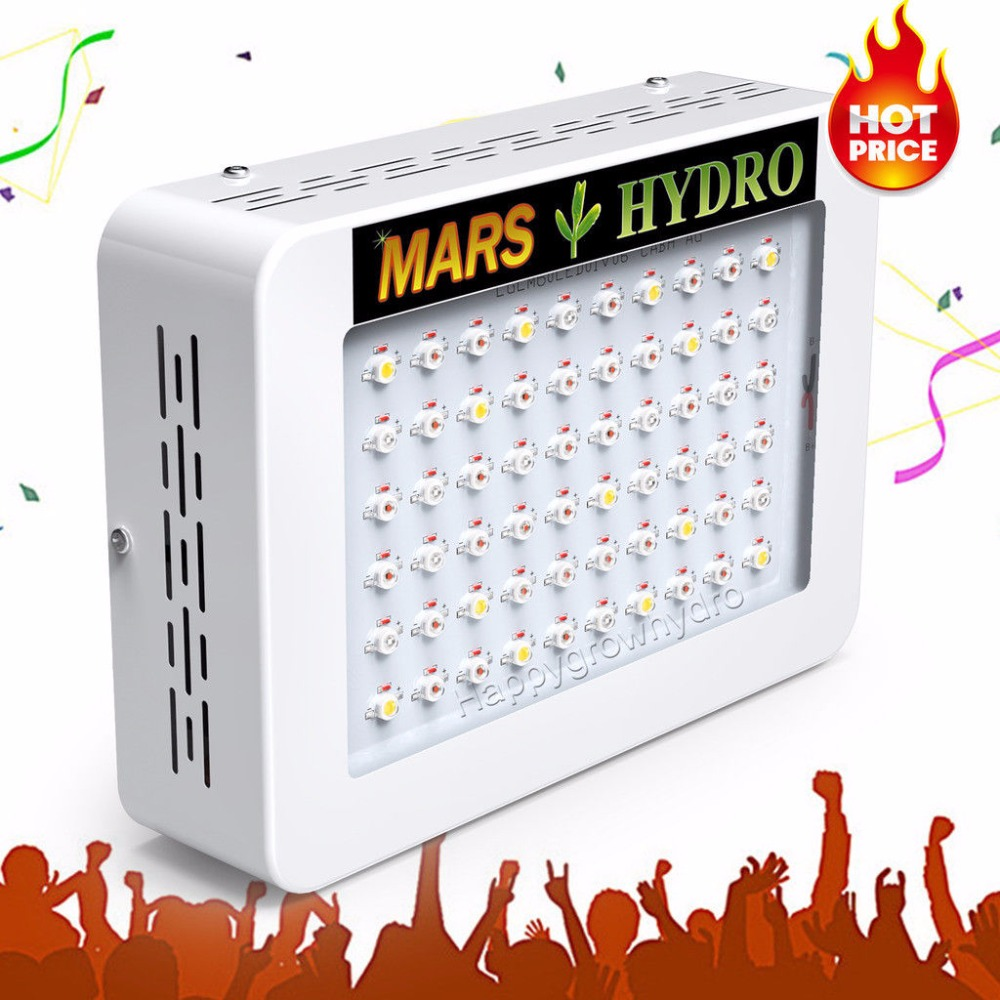 все цены на  Mars Hydro LED Grow Light 300W, Full Spectrum Lamp ,Indoor Medical Plant Veg/Flower Hydroponic Planting Indoor Garden  онлайн