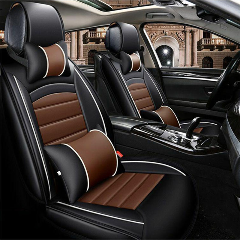 Universal car seat covers Auto Seat Covers for car accessories for Lexus IS200 IS300 IS250 IS F IS220d IS350 LC500h LC500