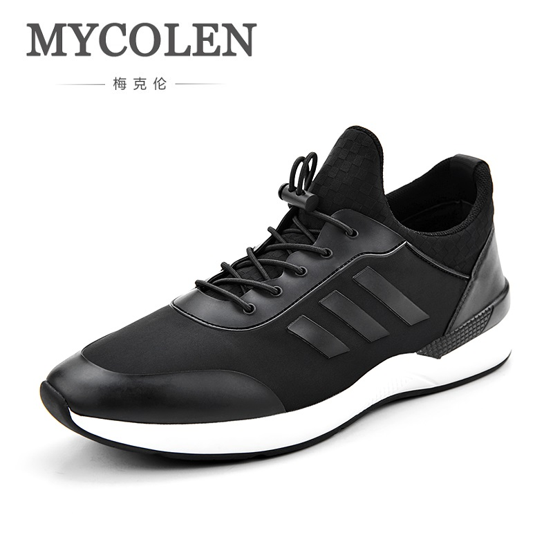 MYCOLEN New 2018 Spring/Autumn Fashion Casual Men Shoes High-Top Low Shoes Breathable Outdoor Youth Shoes Zapatillas Hombre 2017 wholesale hot breathable mesh man casual shoes flats drive casual shoes men shoes zapatillas deportivas hombre mujer
