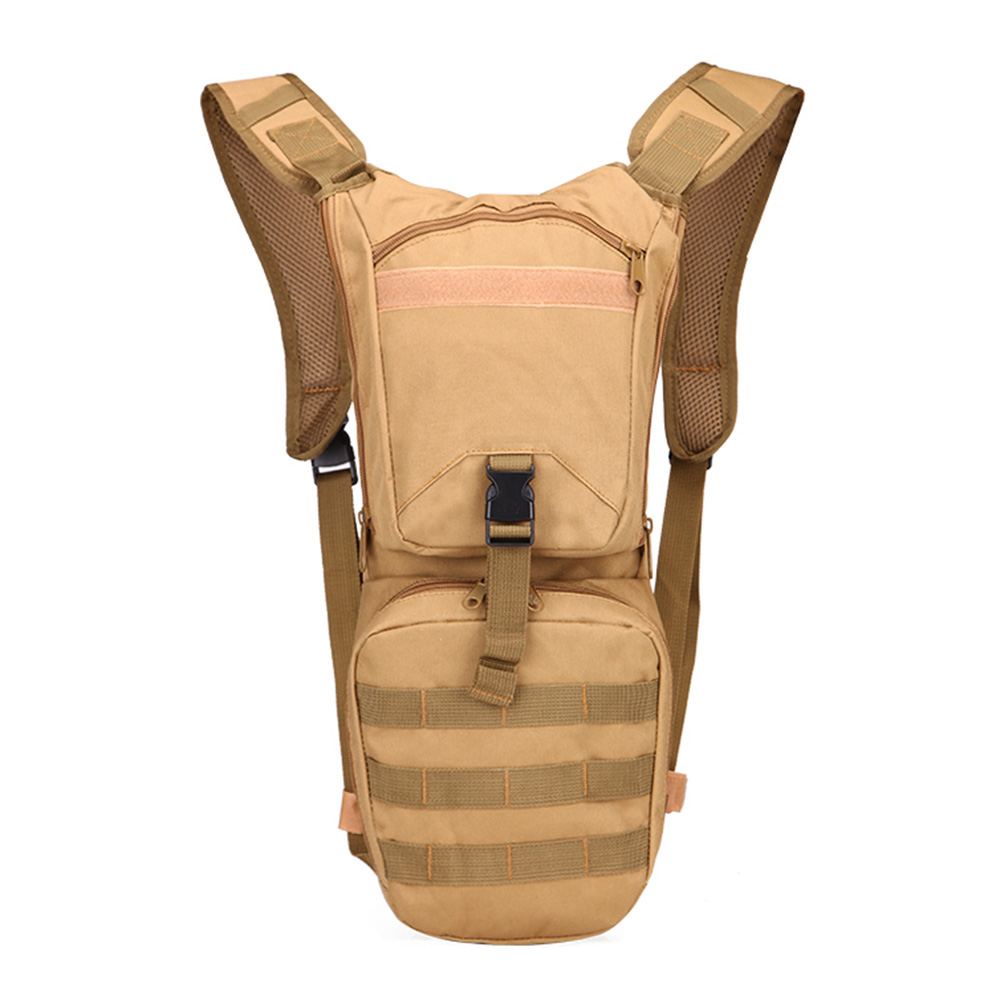 2.5L Outdoor Water Bag Army Military Multi function Bottle Pouch Sports Tools Holder Backpack Climbing Survival Tool