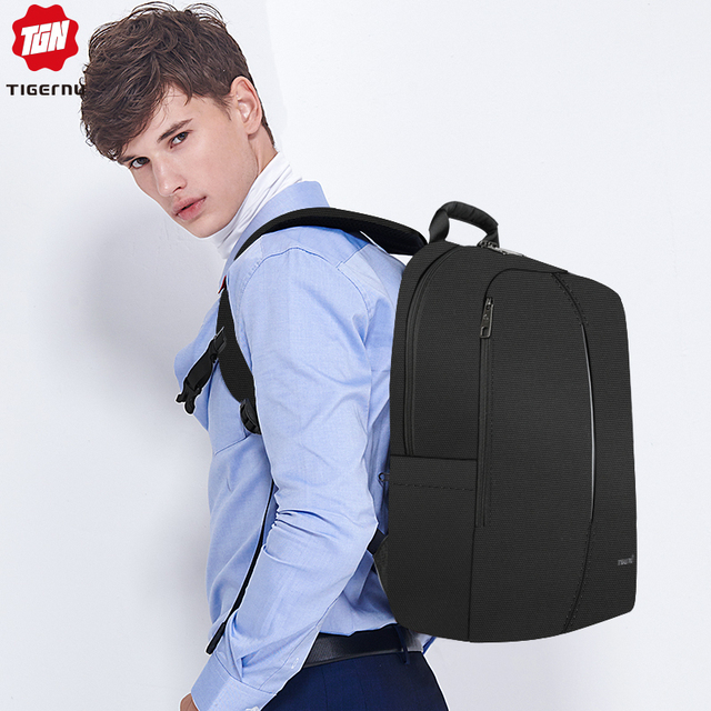 Tigernu 2019 New Fashion Backpack Men 4.0A USB Charging 15.6 inch Laptop Travel Bags Multifunction Male Female Schoolbags Casual 4