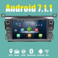 Latest 2 16G 4G Android Quad Core 8inch Car DVD For 2013 2014 2015 RAV4 Radio