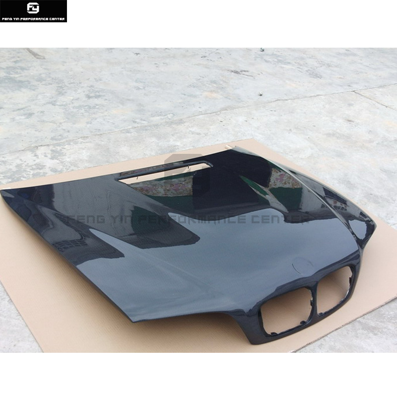 Us 519 99 20 Off E46 3 Series M3 Carbon Fiber Front Engine Hood Bonnets Engine Covers For Bmw E36 325i 98 04 In Hoods From Automobiles Motorcycles