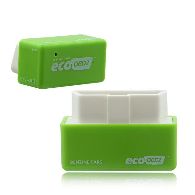 15% Fuel Save EcoOBD2 Chip Tuning Box ECO OBD2 Benzine Petrol Gasoline Cars Plug & Drive Device OBDII Diagnostic Tool Retail Box