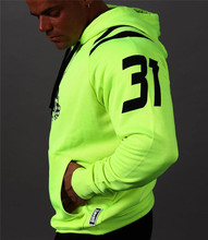 Running Shirt Sport Hooded T-shirt Men Soccer Compression fitness Jerseys Gym Training Basketball Winter