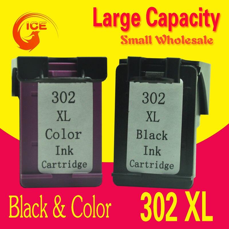 Europe 302 ink Compatible for HP Deskjet 2130 2132 2134 ...