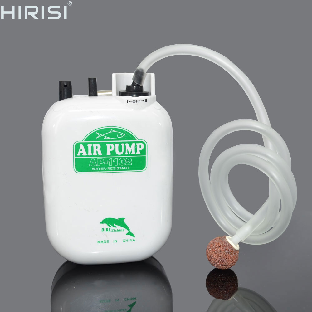 New  Water-resistant Large Power Battery fishing Air Pump fishing oxygen pump aquarium air pump