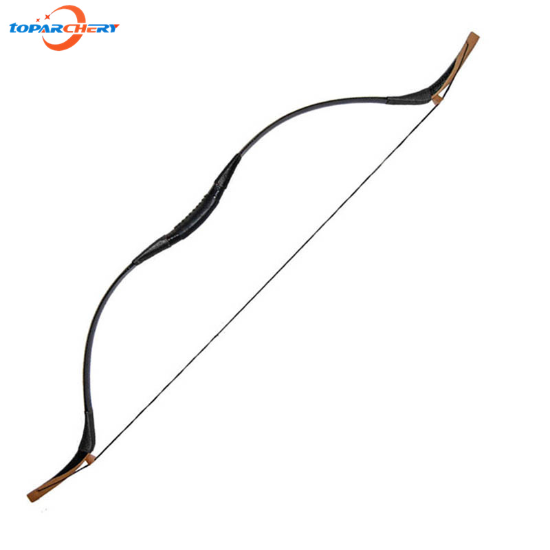 Traditional Archery Recurve Bow 40lbs 45lbs 50lbs Wooden Long Bow for Carbon Fiberglass Arrows Hunting Shooting Training Games 35lbs long bow archery hunting black color for adults archery game traditional wooden made hunting bow 1pc