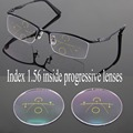 1.56 Inside Progressive Lenses Optical Glasses Wide Corridor Multifocal Lenses Eyeglasses Driving Reading Spectacles Lens to Eye