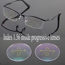 1,56 Innen Gleitsichtgläser Optische Gläser Breite Korridor Multifocal Linsen Brillen Treibende Lesen Quadratbrillenglas Auge