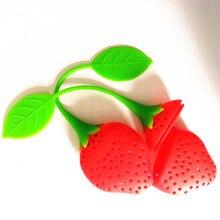 FREE Silicone Strawberry Design Tea Infuser