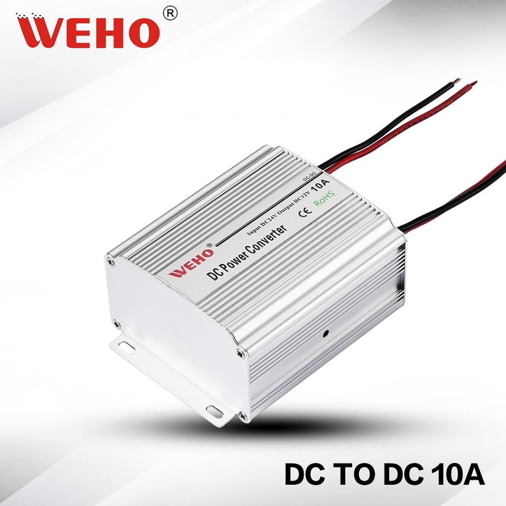 (WH-C1210) преобразователь напряжения 24 В постоянного тока в 12 В постоянного тока 10 А преобразователь постоянного тока