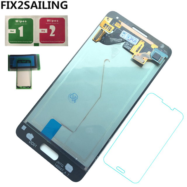 צגי lcd עבור סמסונג גלקסי אלפא G850 G850F G850M G850K טלפון סופר AMOLED LCD תצוגת מסך מגע Digitizer עצרת החלפה