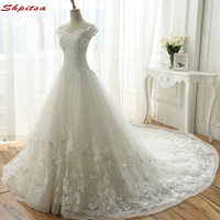 Lace Wedding Dresses Tulle Chinese Crystal Womens Wedding Gown Weeding Bridal Bride Dresses Weddingdress Vestido De