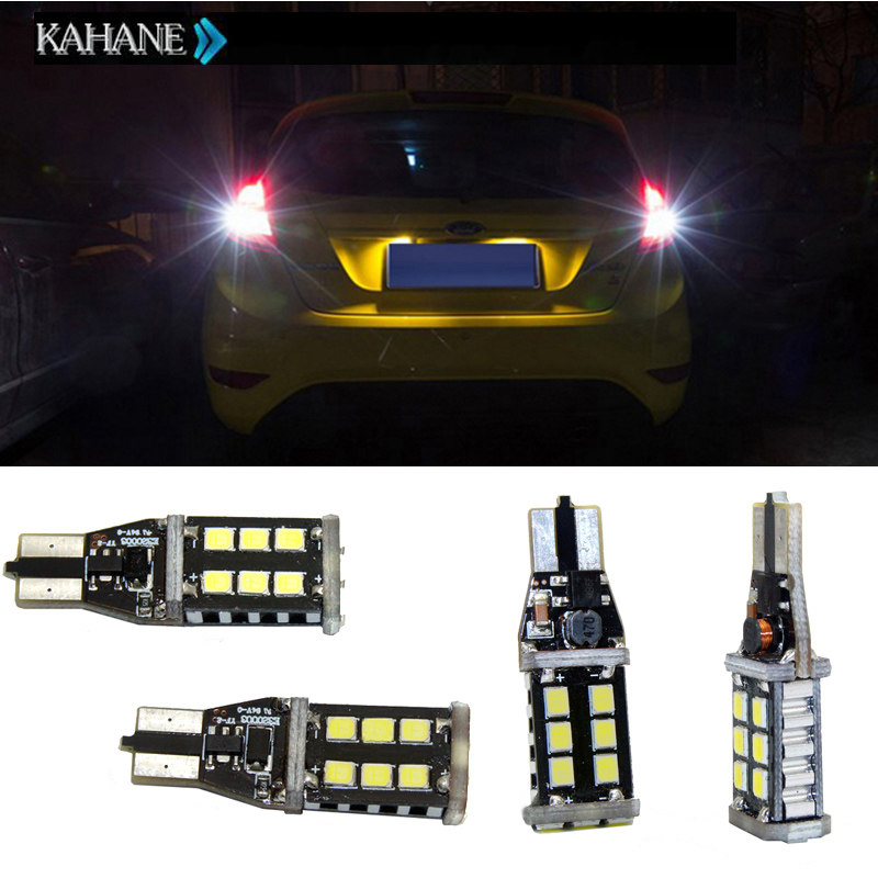 2PCS Xenon White Canbus T15 W16W 921 LED Extreme Chip LED SMD Led Chips Car Auto External Reverse Back Up Lights Bulb for Honda free shipping 2pc lot led lights hi q 921 50w back up lamp up to 2014 for volkswagen jetta iv