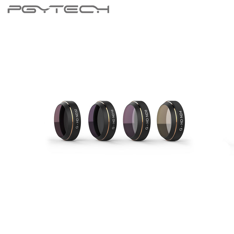 PGYTECH for Mavic Pro Lens Filter 4pcs set ND4 8 16 32 HD Multi Layer Coating