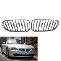 Carbon Fiber Sporty Style Front Grille Grill Fit For BMW E85 E86 Z4 03 07 2004 2005 2006 Coupe Convertible 2 Door