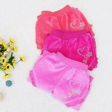 2021 Little Baby Girls Trousers for Autumn And Summer Newborn Elastic Waist Pants 0-12