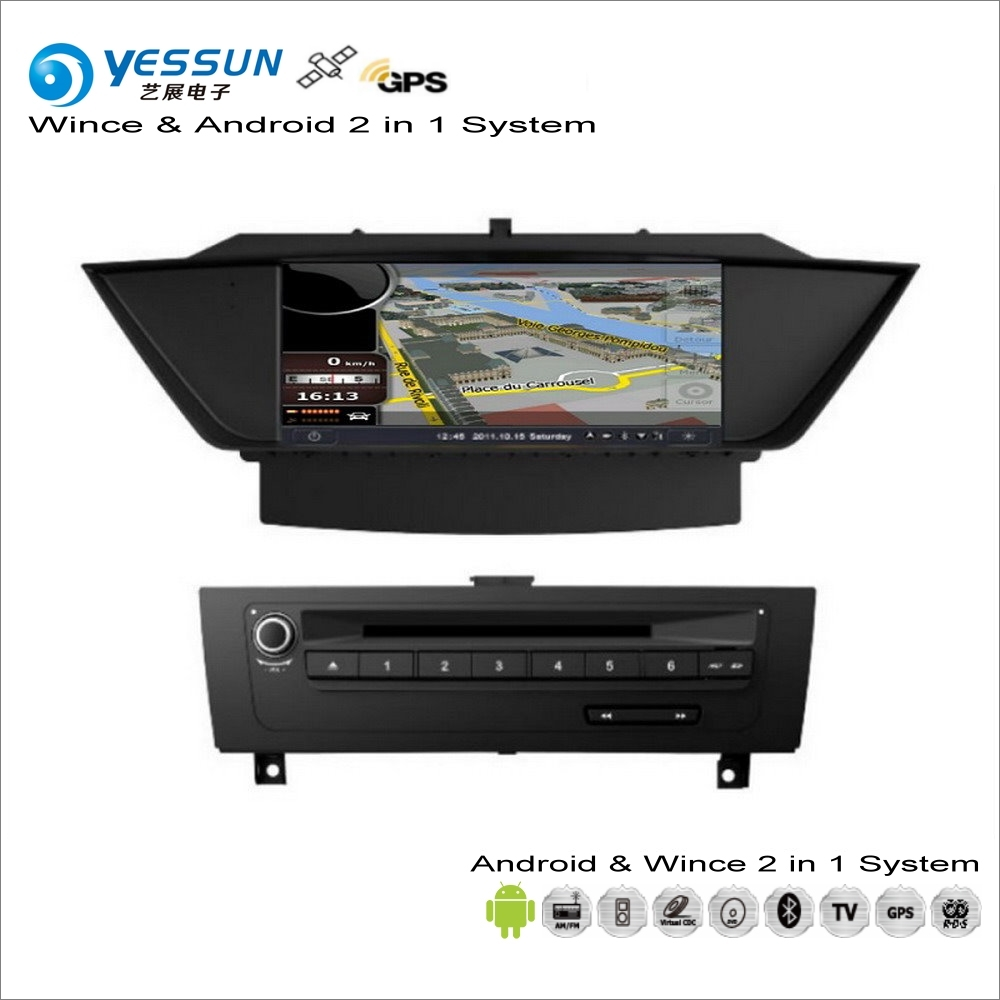 YESSUN For BMW X1 E84 2009~2013 Car Android Multimedia Radio CD DVD Player GPS Navi Map Navigation Audio Video Stereo System