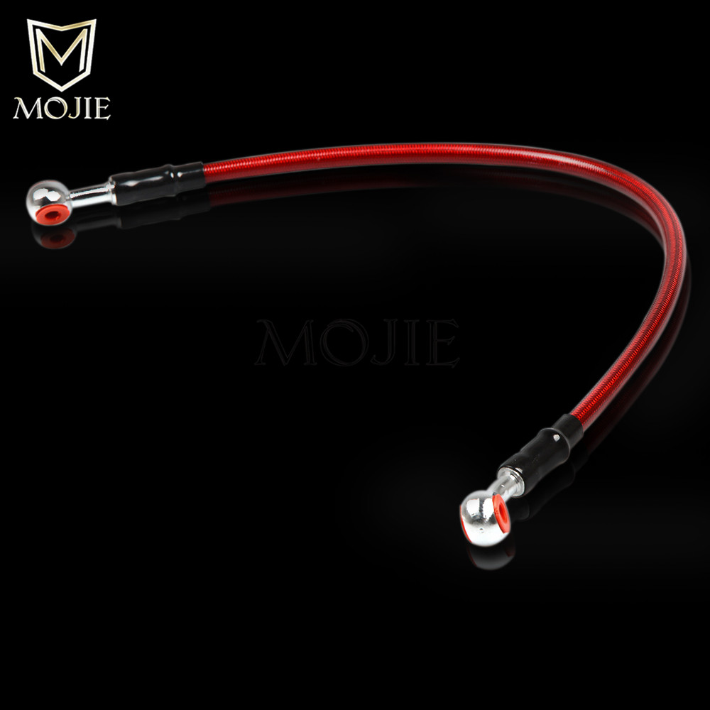 Motorcycle Universal Brake hose clutch or brake hydraulic hose Line For Honda hornet 600 cbr 600 cb 750 cb400 cb1300 cbr 1000 rr in Levers Ropes Cables from Automobiles Motorcycles