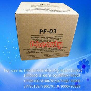 Original PF-03 cabeza de impresión para Canon iPF500 510, 600, 610, 720, 810, 5000, 6000S 6200 de 8000, 8010S 8100 9000 de 9100 cabezal de impresión
