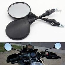 Benutzerdefinierte Schwarz Universal Folding Motorrad Spiegel motorrad Seitenspiegel Rückspiegel 8mm 10mm Für yamaha Honda Suzuki