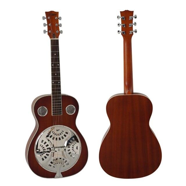6346787f78 Mahogany Body Acoustic Dobro Slide Guitar Free Case Left hand ...