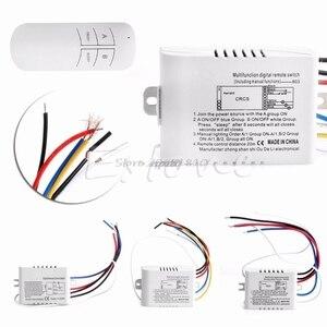 Image 1 - Беспроводной приемник с дистанционным управлением, 1/2/3/канал вкл./выкл.