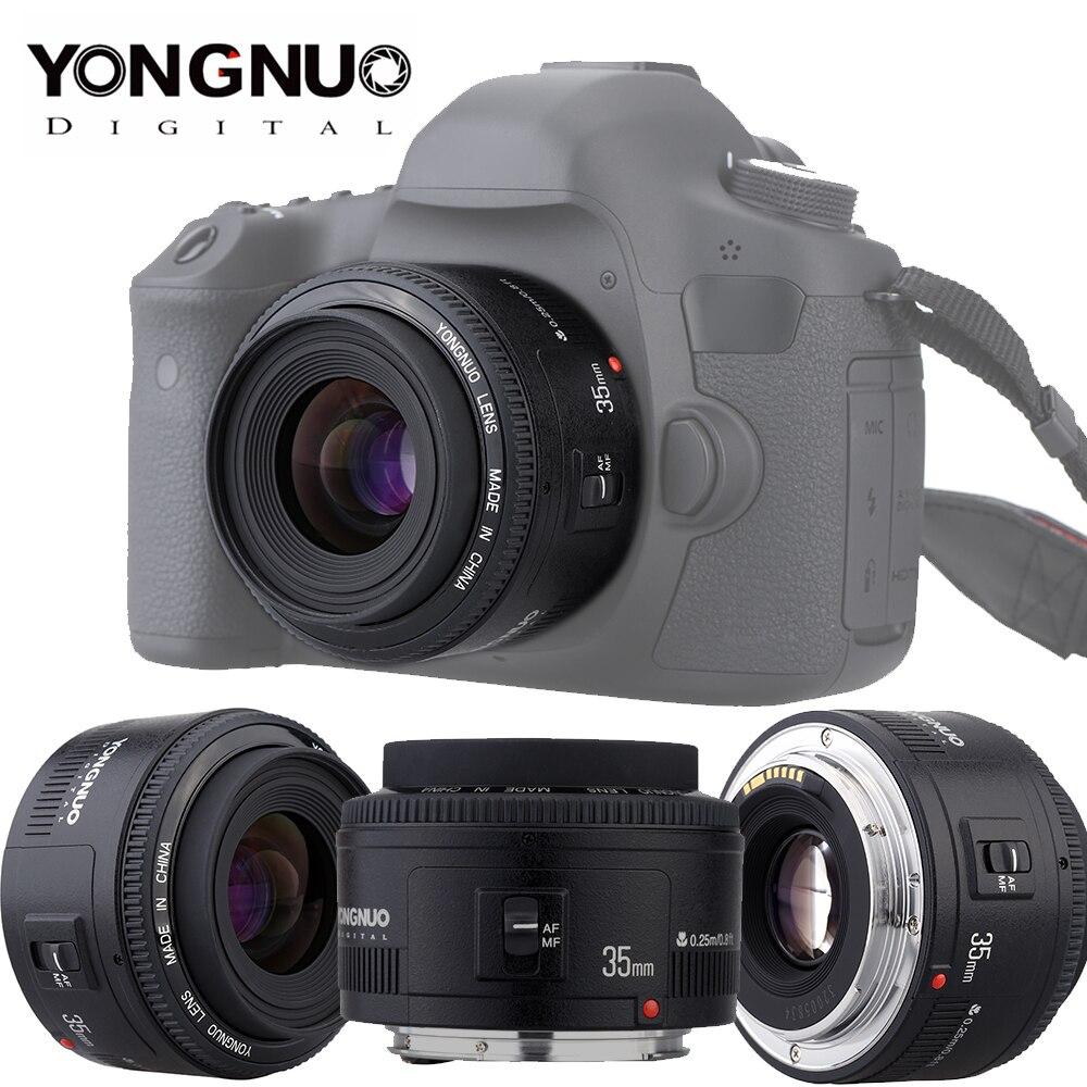 Yongnuo YN35mm F2 0 עדשה עבור Canon 600d 60d 5DII 5D 500D 400D 650D 600D  450D YN50mm F1 8 עדשה עבור Canon EOS 60D 70D 5D2 5D3 600D