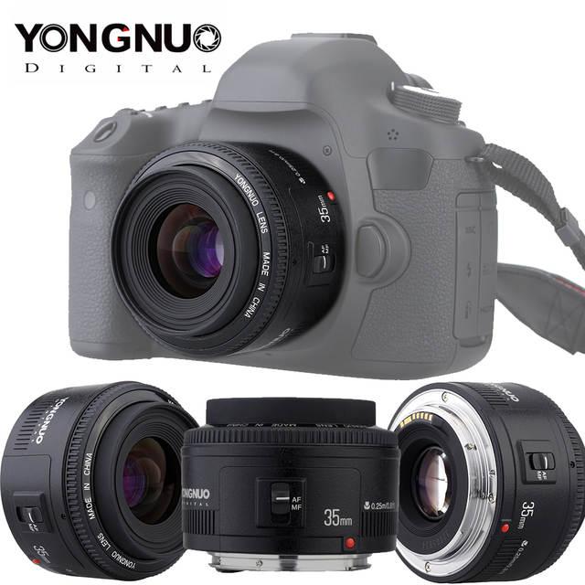 US $42 99 |Yongnuo YN35mm F2 0 Lens For Canon 600d 60d 5DII 5D 500D 400D  650D 600D 450D YN50mm f1 8 Lens for Canon EOS 60D 70D 5D2 5D3 600D-in  Camera