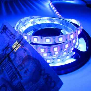 Super Bright 5M UV Ultraviolet Led Strip Light DC12V 5050 300Leds Purple Waterproof LED Tap Ribbon String Light Better Than 3528 - DISCOUNT ITEM  15% OFF All Category
