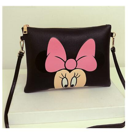 Women Hello Kitty Messenger Bags Minnie Bag Leather Handbags Clutch Bag Bolsa Feminina Mochila Bolsas Christmas Gift Many design 2018 women messenger bags minnie mickey bag leather handbags clutch bag bolsa feminina mochila bolsas female sac a main