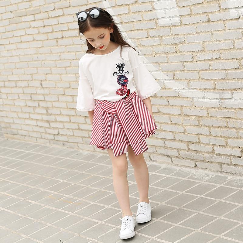 Fashion Teenage Girls Clothing Set For Teen Girl Children