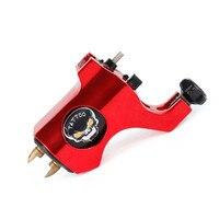 1Pcs Aluminum Alloy Sliding Skull Rotary Tattoo Machine Gun Hook Line Interface Lining Shading For Tattoo Body Art Supplies
