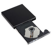 10 Pcs Lot LPortable External Optical Drives Slim USB 2 0 DVD RW CD RW Burner