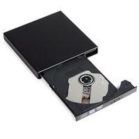 10 шт./партия lportable внешний Оптические приводы Slim USB 2.0 DVD RW CD RW горелки Регистраторы писатель CD диск DVD Встроенная память писатель для ПК