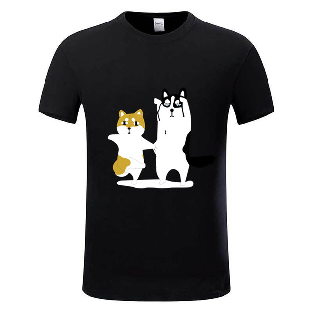 Atemberaubend New Arrival Shiba Inu Funny Tee shirt Homme Summer Animal Dog #PZ_17