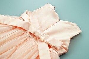 Image 4 - Cielarko Kız Elbise Kelebek Çocuk Çiçek Elbiseler Doğum Günü Tül Çocuk Düğün Parti Frocks Resmi Bebek Balo Kız için