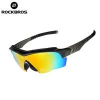 ROCKBROS Cycling Sun Glasses Gafas Ciclismo Polarized Men Women Outdoor Sports Bicycle Glasses Bike Mountain MTB