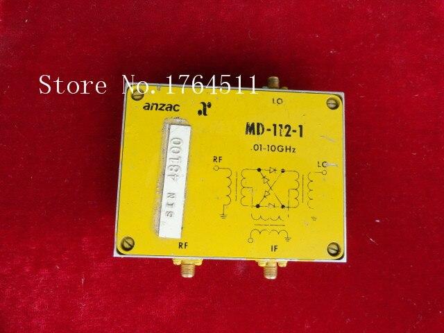 [BELLA] ANAZAC MD-112-1 0.01-10GHz SMA RF Coaxial Double Balanced Mixer