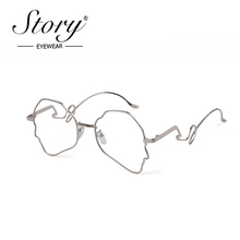 STORY retro oversized cat eye sunglasses women men 2019 brand designer Personali